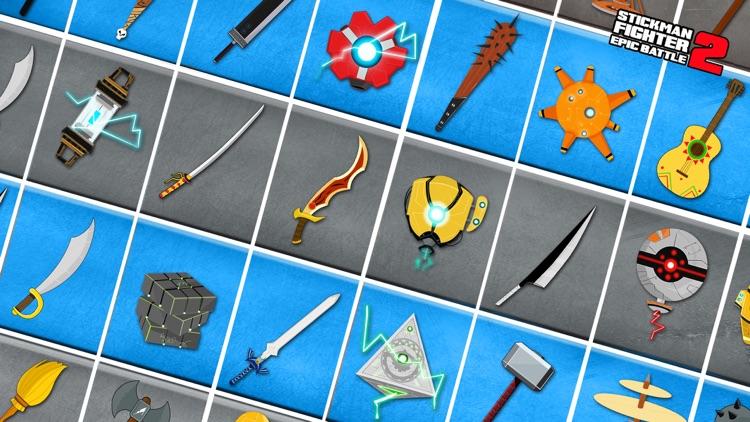 Stickman Fighter Epic Battle 2 screenshot-4