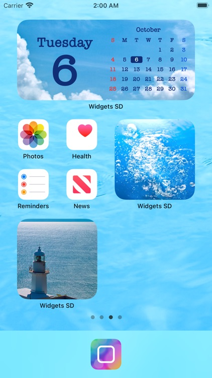 Widgets SD - Photo & Calendar screenshot-3