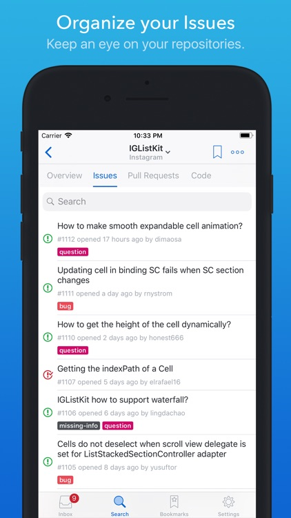 GitHawk for GitHub screenshot-5