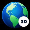 地球儀 3D