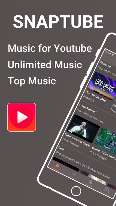 Top 10 Apps like Mytube Pro - Video Music Player for Youtube