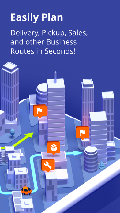 Route4Me Route Planner Screenshot