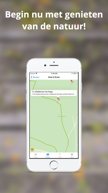 Routes - door Bergse Bossen screenshot-4
