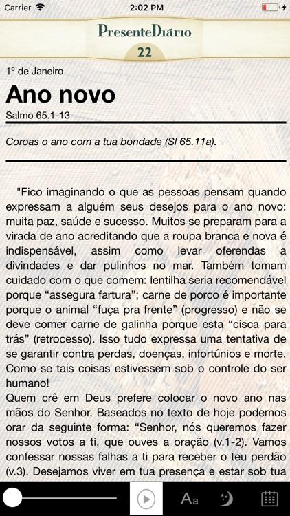 Presente Diário 22