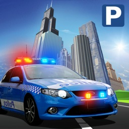 Police Car Classic Parking 3D