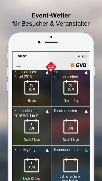 Wetter-Alarm: für die Schweiz screenshot-6