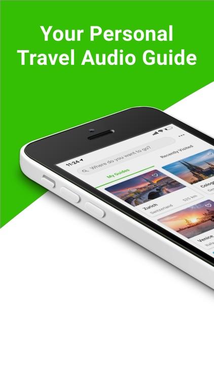 SmartGuide travel guide & map screenshot-0