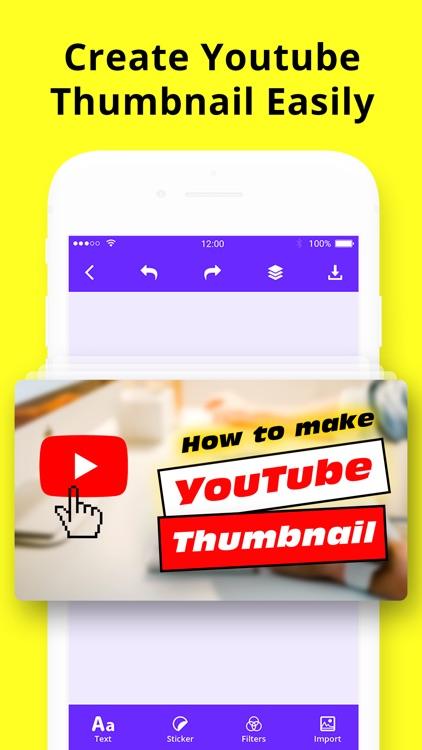Thumbnail Maker: Banner Art