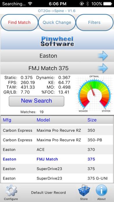 Screenshot for OT2Go Spine in United States App Store
