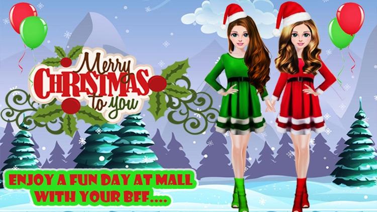 Christmas Girl Party Salon Day screenshot-3
