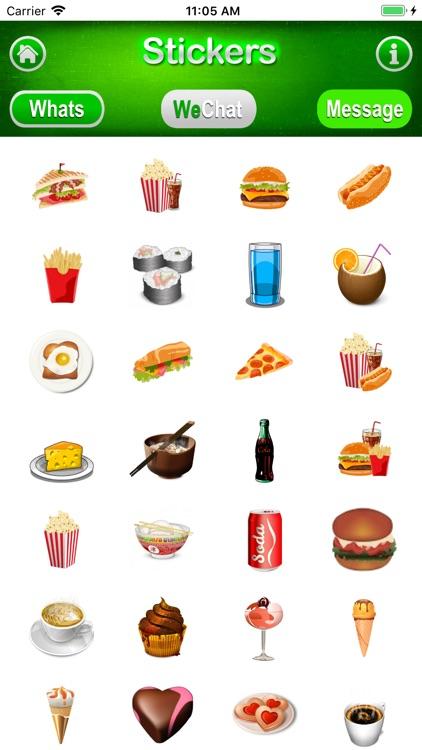 3D Stickers Messages, WeChat screenshot-5