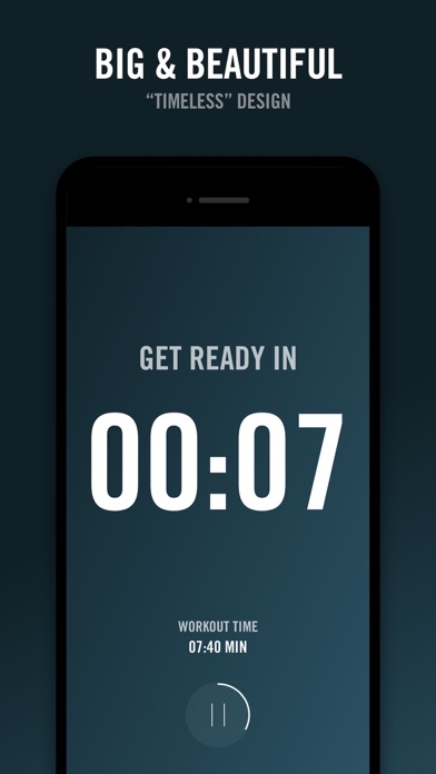 Screenshot for Reps - Workout Timer in Egypt App Store