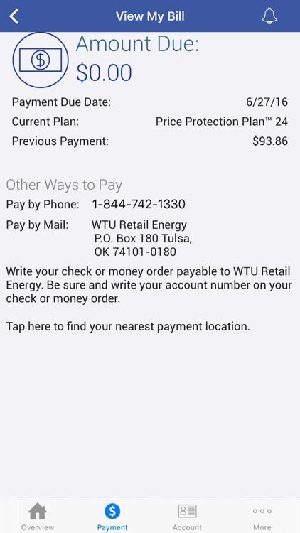 WTURetailEnergyAccount Manager screenshot-3