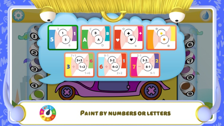 Color by Numbers - Cars + screenshot-6