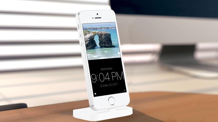 Alarm Clock Bedside Table screenshot-3