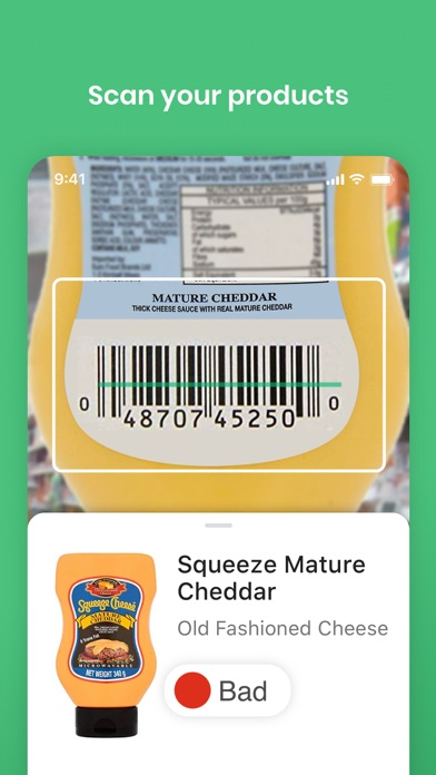 messages.download Yuka - Food & Cosmetic scanner software