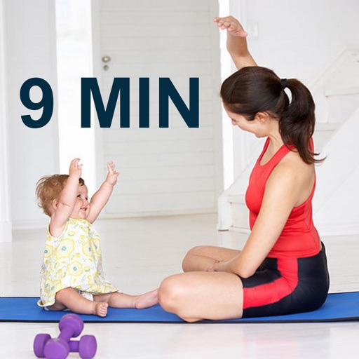 9 Minutes Mom and Baby Workout