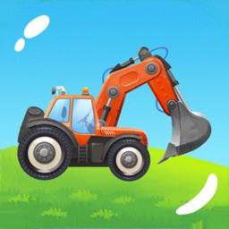 Trucks and Tractors: Kids Game