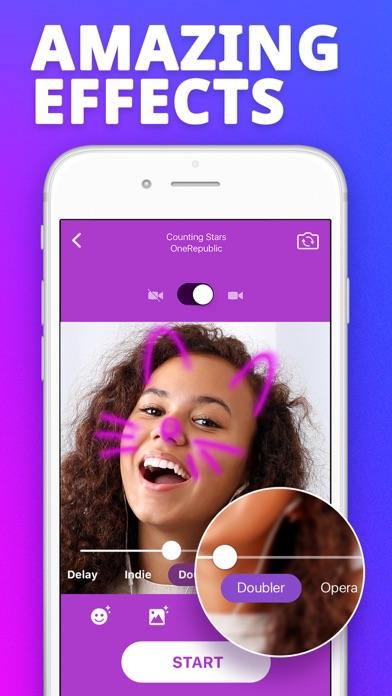 Karaoke Face - Sing Songs! app image