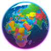 Earth 3D - World Atlas - 3Planesoft