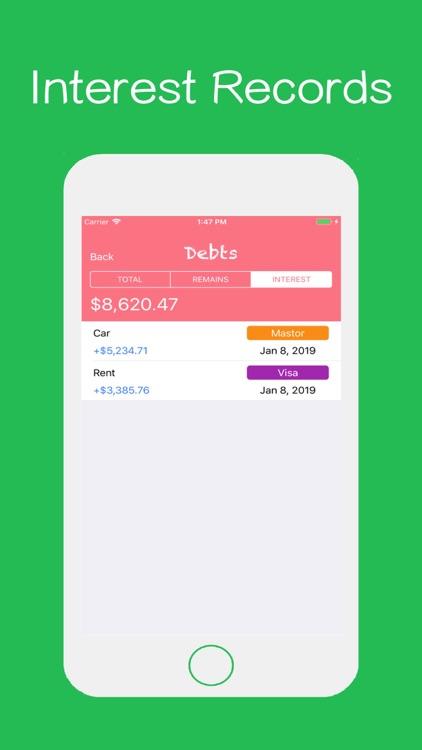 Debts - Time To Pay screenshot-3