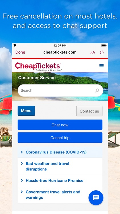 CheapTickets Hotels & Flights