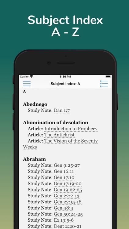 Jeffrey Prophecy Study Bible screenshot-4