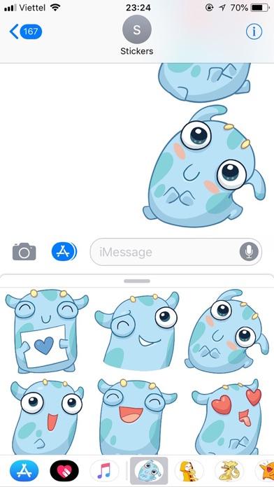 Emoji Cute Pun Funny Stickers screenshot 3