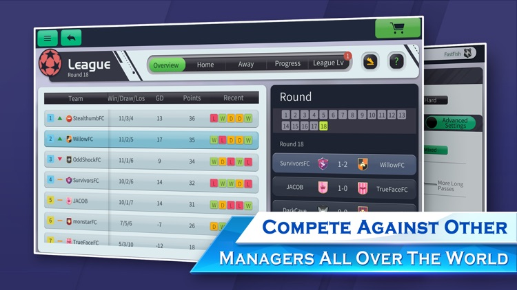 Glorious Eleven Soccer Manager screenshot-4