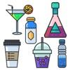 Beverage Stickers Pack