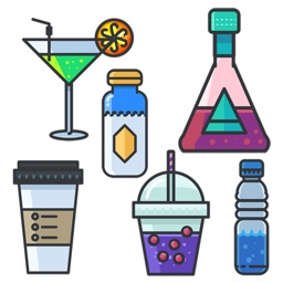Beverage Stickers Pack
