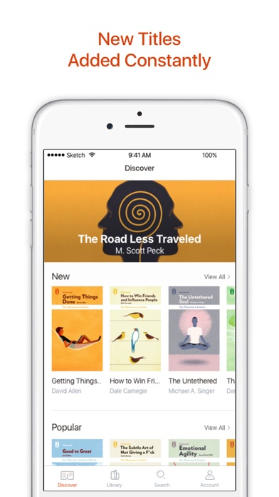Screenshot for Instaread - Audio & Text in United States App Store