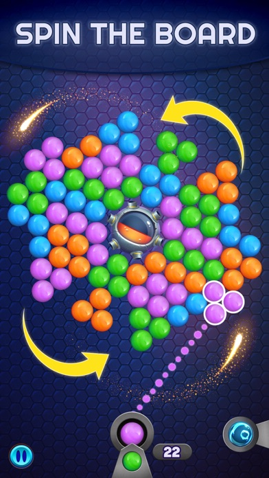 Bubble Pop Spinner screenshot 1