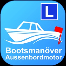 Bootsmanöver Aussenbordmotor