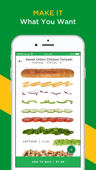 download SUBWAY® apps 5