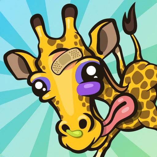 Giraffe Winter Sport Simulator