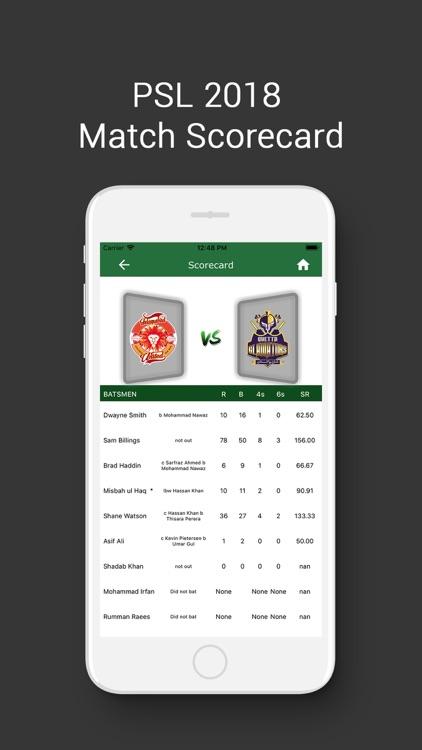 PSL - Pakistan Super League screenshot-4