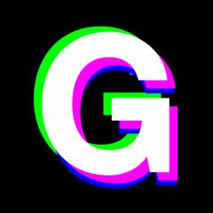 Glitch Art - Mega 90s Photo