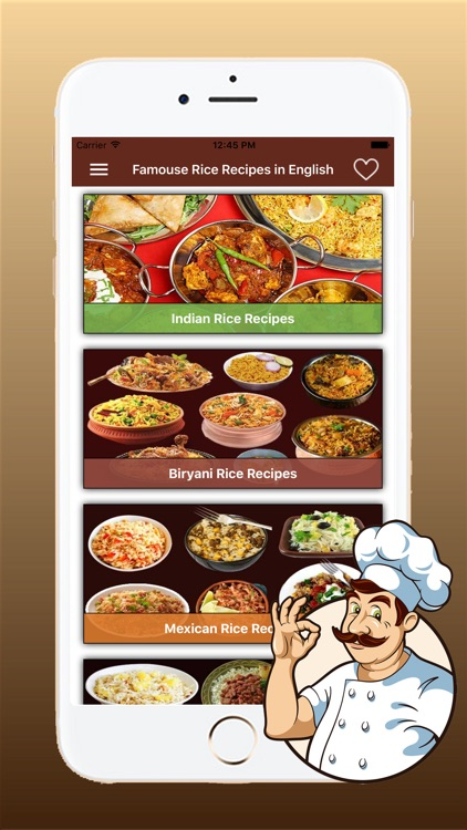 Famous Rice Recipes in English screenshot-2