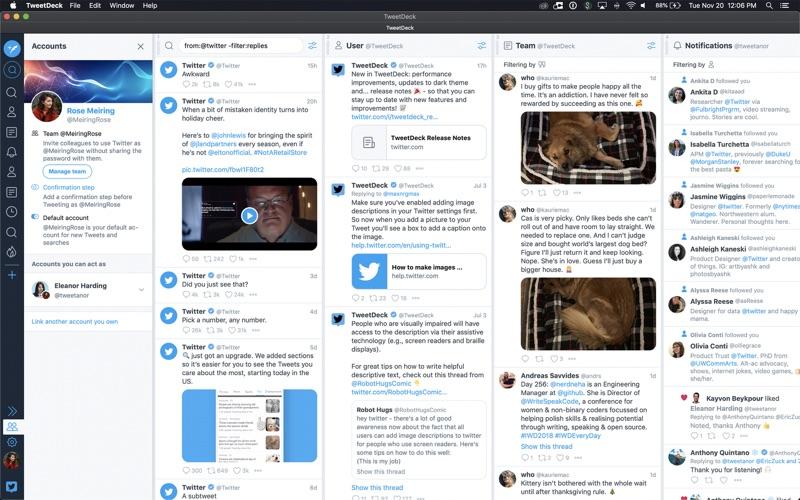 TweetDeck for Mac