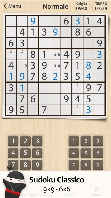 Screenshot of Sudoku ∙1
