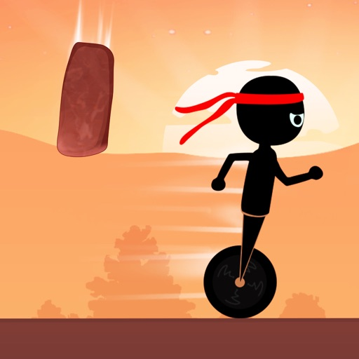 Shadow Ninja Escape Stone Age