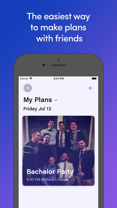 Turnout – create fun events screenshot