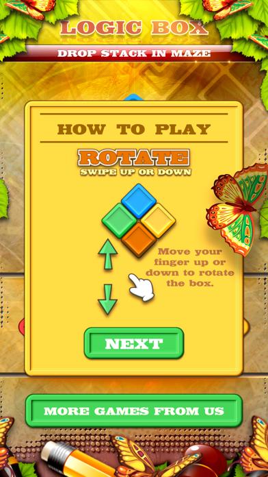 Logic Box - Drop Stack In Maze screenshot 4