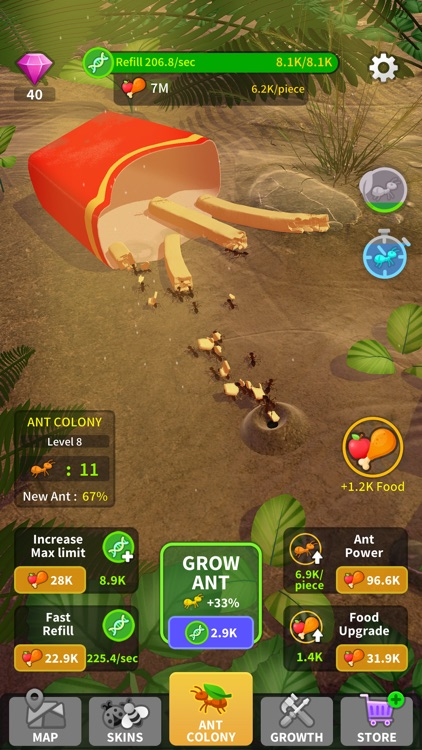 Little Ant Colony - Idle Game screenshot-3