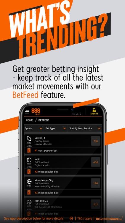 888 Sport: Live Sports Betting screenshot-6