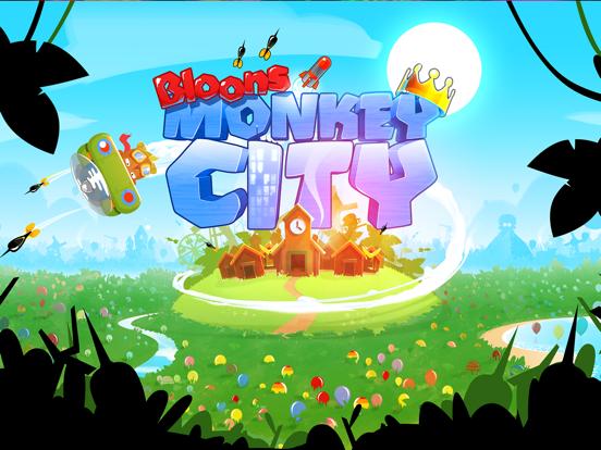 Bloons Monkey City iPad app afbeelding 5