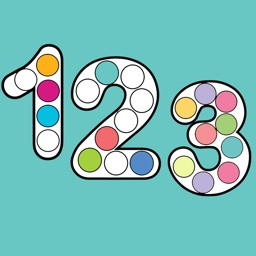 123 Numbers Dot Coloring Book