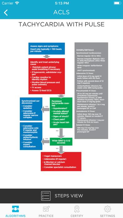 MediCode- ACLS, PALS, BLS, CPRScreenshot of 2