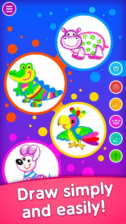 Drawing kids games for toddler screenshot-0